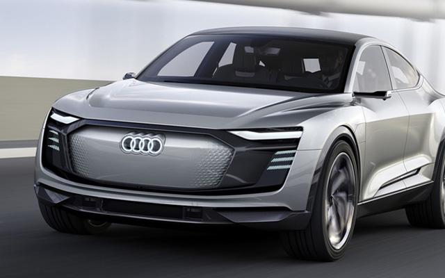 เปิดตัวรถยนต์ไฟฟ้า Audi e-tron