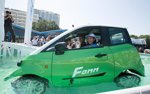 เปิดตัวรถยนต์ไฟฟ้า FOMM ONE